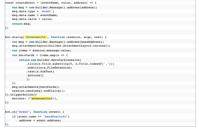 SharePoint BOT Code Integration
